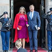 NLD/Amsterdam/20191204 - Koninklijke familie bij Prins Claus Prijs 2019, Koning Willem Alexander en Koningin Maxima