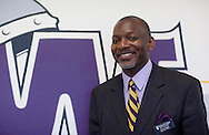 Waldorf College Director of Admissions Carl Childs at Waldorf College in Forest City, Iowa on Saturday, May 14, 2011.