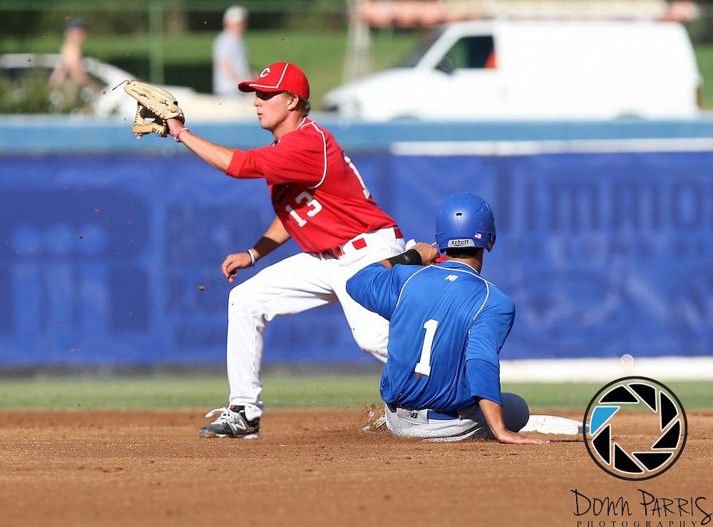 Brody Weiss // Jamie Westbrook 2012 Area Code Baseball, Blair Field, Aug 5 2012, Long Beach CA (Donn Parris)