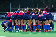 Bilthoven - SCHC - Oranje Rood Dames, Hoofdklasse Hockey Dames, Seizoen 2017-2018, 06-04-2018, SCHC - Oranje Rood 2-1, Dames SCHC<br /> <br /> (c) Willem Vernes Fotografie