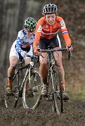 01-02-2014 WIELRENNEN: UCI CYCLO-CROSS WORLD CHAMPIONSHIPS: HOOGERHEIDE <br /> WK veldrijden in Hoogerheide / Sophie de Boer<br /> ©2014-FotoHoogendoorn.nl