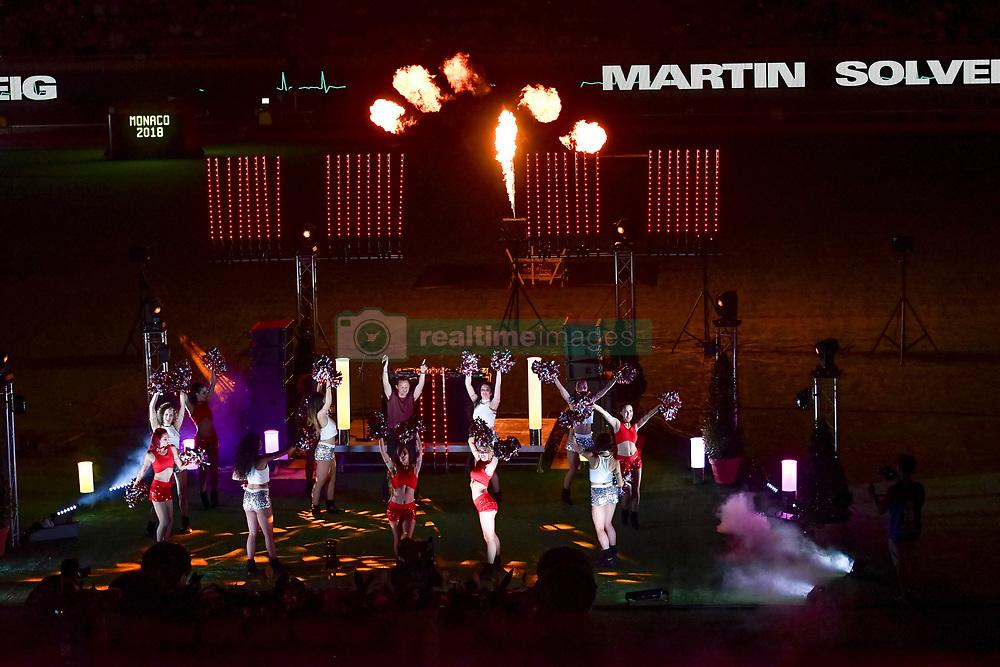 July 20, 2018 - Monaco - Le disc jockey Martin Laurent Picandet dit Martin Solveig (Credit Image: © Panoramic via ZUMA Press)