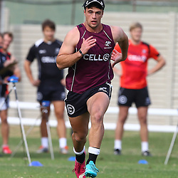 DURBAN, SOUTH AFRICA Monday 29th June 2015 -  Heimar Williams during the Cell C Sharks Conditioning training session at Growthpoint Kings Par in Durban, South Africa. (Photo by Steve Haag)
