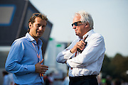 September 3, 2016: Charlie Whiting, FIA, Jarno Trulli , Italian Grand Prix at Monza