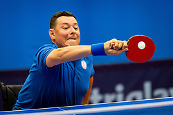 DIRLEA Ioan during day 1 of 15th EPINT tournament - European Table Tennis Championships for the Disabled 2017, at Arena Tri Lilije, Lasko, Slovenia, on September 28, 2017. Photo by Ziga Zupan / Sportida