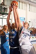 DESCRIZIONE : Chieti Italy Italia Eurobasket Women 2007 Grecia Italia Greece Italy <br /> GIOCATORE : Kathrin Ress P Nikolaidou<br /> SQUADRA : Nazionale Italia Donne Femminile  Grecia Greece<br /> EVENTO : Eurobasket Women 2007 Campionati Europei Donne 2007<br /> GARA : Grecia Italia Greece Italy<br />  DATA : 25/09/2007 <br /> CATEGORIA : rimbalzo<br /> SPORT : Pallacanestro <br /> AUTORE : Agenzia Ciamillo-Castoria/E.Castoria<br /> Galleria : Eurobasket Women 2007 <br /> Fotonotizia : Chieti Italy Italia Eurobasket Women 2007 Grecia Italia Greece Italy <br /> Predefinita :