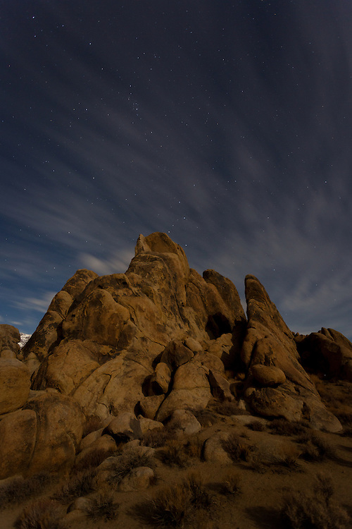 Alabama Hills near Lone Pine, California