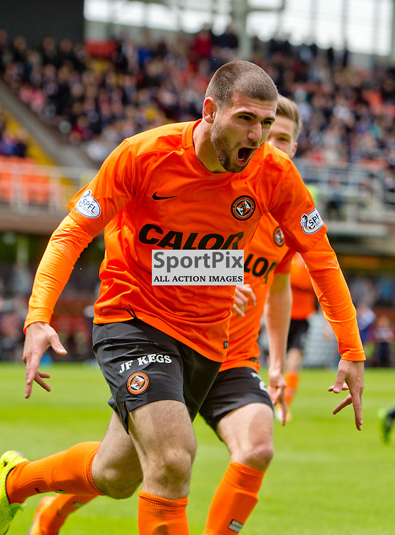 Dundee United striker Nadir Ciftci has been charged by the Scottish Football Association for his biting incident with Dundee's Jim McAlister. <br />