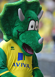 Norwich Mascot, Middlesbrough v Norwich, Sky Bet Championship, Play Off Final, Wembley Stadium, Monday  25th May 2015