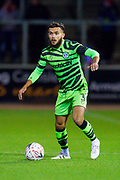 Dominic Bernard (#3) of Forest Green Rovers during the The FA Cup match between Carlisle United and Forest Green Rovers at Brunton Park, Carlisle, England on 10 December 2019.