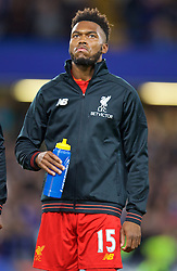 LONDON, ENGLAND - Friday, September 16, 2016: Liverpool's Daniel Sturridge before the FA Premier League match against Chelsea at Stamford Bridge. (Pic by David Rawcliffe/Propaganda)
