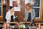 New York, NY - July 17, 2019: Amber Mayfield of To Be Hosted presents a private dinner for female event professionals featuring Chef Jahvel Fraser at Kitchen Table in Little Italy.<br /> <br /> <br /> Photo by Clay Williams.<br /> <br /> © Clay Williams / http://claywilliamsphoto.com
