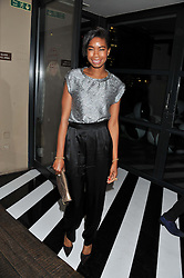 TOLULA ADEYEMI at the InStyle Best of British Talent Event in association with Lancôme and Avenue 32 held at The Rooftop Restaurant, Shoreditch House, Ebor Street, London E1 on 30th January 2013.