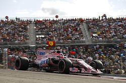 October 21, 2017 - Austin, United States of America - Motorsports: FIA Formula One World Championship 2017, Grand Prix of United States, ..#31 Esteban Ocon (FRA, Sahara Force India F1 Team) (Credit Image: © Hoch Zwei via ZUMA Wire)
