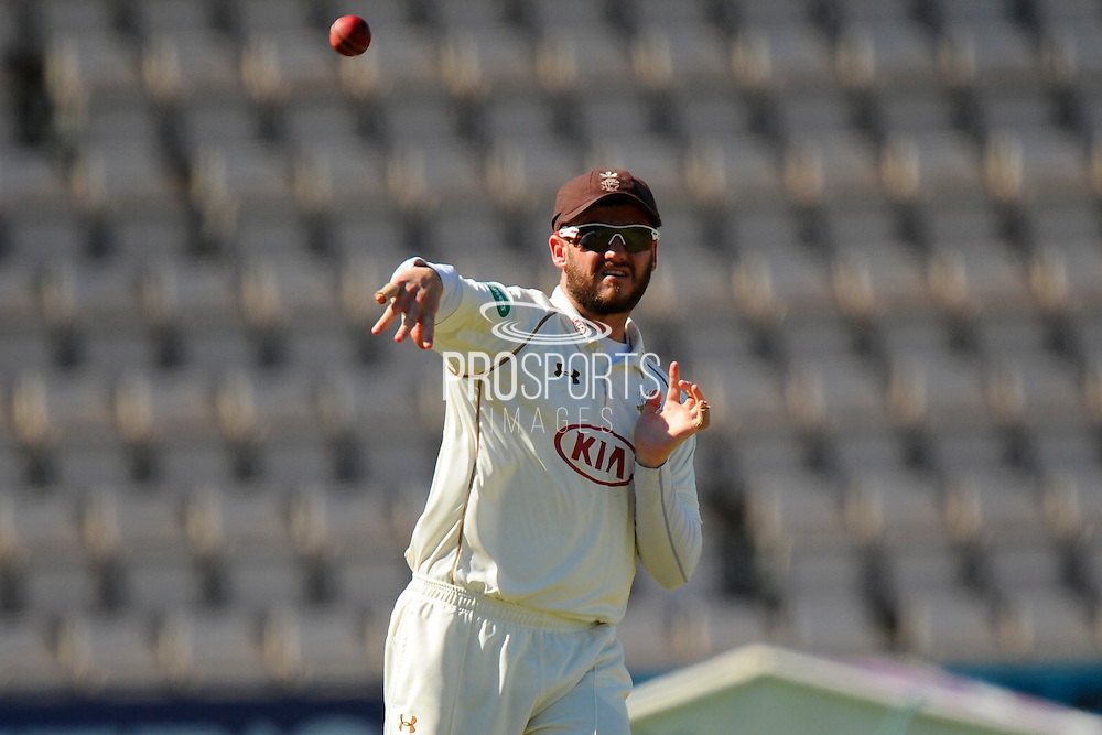 Surrey's Steven Davies during the Specsavers County Champ Div 1 match between Hampshire County Cricket Club and Surrey County Cricket Club at the Ageas Bowl, Southampton, United Kingdom on 18 July 2016. Photo by Graham Hunt.