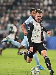 November 26, 2019, Turin, Italy: 8 aaron ramsey (juventus)during Tournament round - Juventus FC vs Atletico Madrid, Soccer Champions League Men Championship in Turin, Italy, November 26 2019 - LPS/Claudio Benedetto (Credit Image: © Claudio Benedetto/LPS via ZUMA Wire)