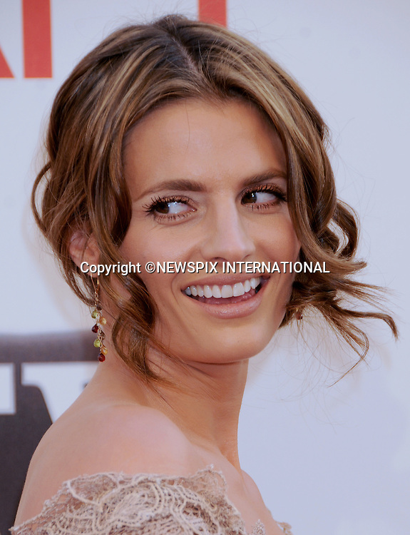 "STANA KATIC.attends TV Land Presents: The AFI Life Achievement Awards Honoring Morgan Freeman at Sony Pictures Studios, Culver City, California_9 June 2011.Mandatory Photo Credit: ©Crosby/Newspix International. .**ALL FEES PAYABLE TO: ""NEWSPIX INTERNATIONAL""**..PHOTO CREDIT MANDATORY!!: NEWSPIX INTERNATIONAL(Failure to credit will incur a surcharge of 100% of reproduction fees)..IMMEDIATE CONFIRMATION OF USAGE REQUIRED:.Newspix International, 31 Chinnery Hill, Bishop's Stortford, ENGLAND CM23 3PS.Tel:+441279 324672  ; Fax: +441279656877.Mobile:  0777568 1153.e-mail: info@newspixinternational.co.uk"