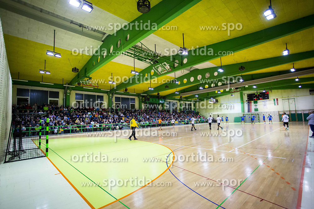 Arena during Handball friendly match between Slovenia and Iran, on January 4, 2018 in Dol pri Hrastniku, Dol pri Hrastniku, Slovenia. Photo by Ziga Zupan / Sportida