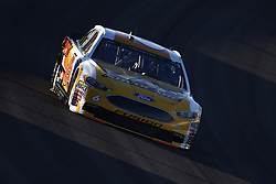 September 14, 2018 - Las Vegas, Nevada, United States of America - Trevor Bayne (6) brings his car through the turns during qualifying for the South Point 400 at Las Vegas Motor Speedway in Las Vegas, Nevada. (Credit Image: © Chris Owens Asp Inc/ASP via ZUMA Wire)