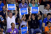 DESCRIZIONE : Cagliari Qualificazione Eurobasket 2015 Qualifying Round Eurobasket 2015 Italia Svizzera Italy Switzerland<br /> GIOCATORE : Tifosi<br /> CATEGORIA : Tifosi<br /> EVENTO : Cagliari Qualificazione Eurobasket 2015 Qualifying Round Eurobasket 2015 Italia Svizzera Italy Switzerland<br /> GARA : Italia Svizzera Italy Switzerland<br /> DATA : 17/08/2014<br /> SPORT : Pallacanestro<br /> AUTORE : Agenzia Ciamillo-Castoria/Max.Ceretti<br /> Galleria: Fip Nazionali 2014<br /> Fotonotizia: Cagliari Qualificazione Eurobasket 2015 Qualifying Round Eurobasket 2015 Italia Svizzera Italy Switzerland<br /> Predefinita :