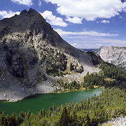 Native Lake, Wind River Range Wyoming, Bridger-Teton Wilderness area