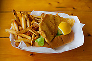 Flounder Sandwich at Champlin's ($13.90) - OFF: RI