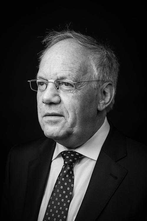 Johann Schneider-Ammann, conseiller fédéral PLR. Genève, 10 février 2015.