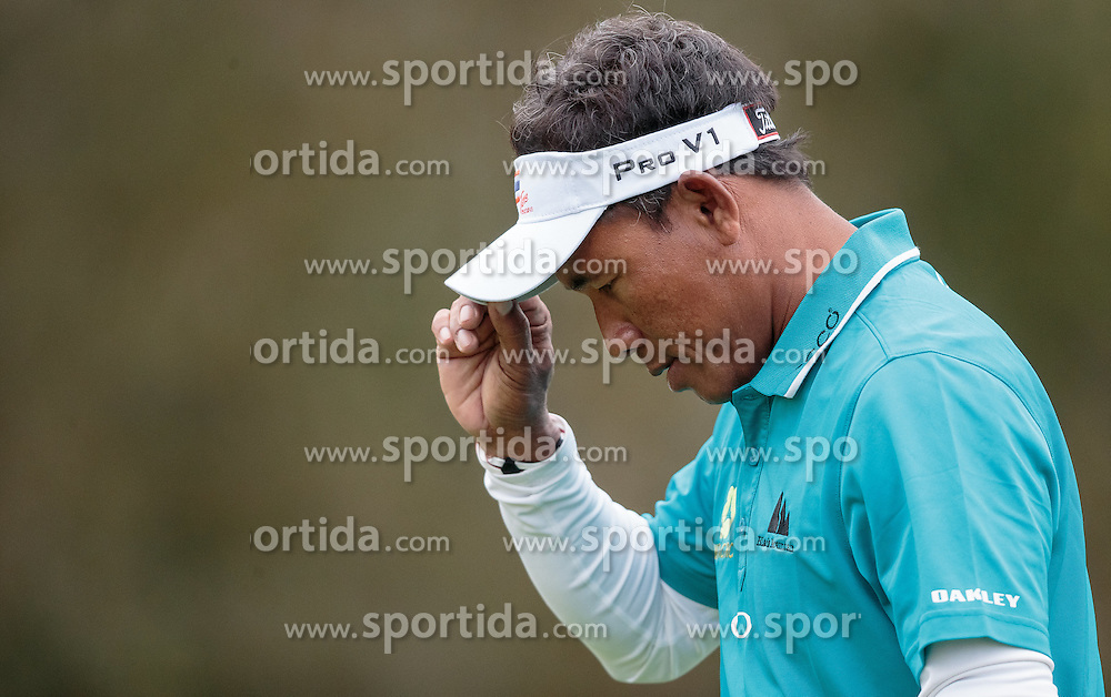 26.09.2015, Beckenbauer Golf Course, Bad Griesbach, GER, PGA European Tour, Porsche European Open, im Bild Thongchai Jaidee (THA) // during the European Tour, Porsche European Open Golf Tournament at the Beckenbauer Golf Course in Bad Griesbach, Germany on 2015/09/26. EXPA Pictures © 2015, PhotoCredit: EXPA/ JFK