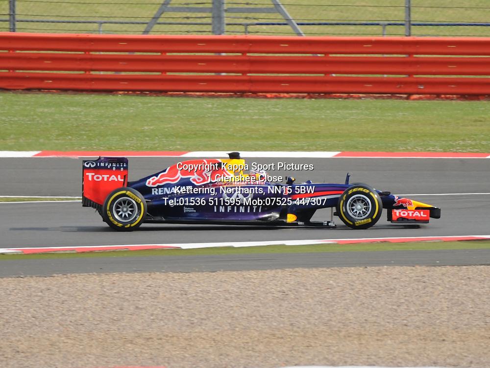 Daniel Ricciardo Australian Red Bull Renault    F1  Formula One Silverstone,Testing July 8th 2014
