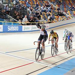 17-12-2016: Wielrennen: NK baanwielrennen: Apeldoorn       <br /> APELDOORN (NED) wielrennen<br /> Kirsten Wild was ook op de tweede dag van het Nederlands Kampioenschap op de baan een zege geboekt: de  Overijsselse veroverde eerst het goud op het NK individuele achtervolging en won later ook de scratch.