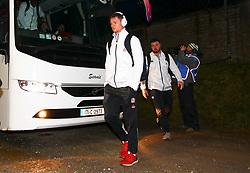 England U20 captain, Fraser Dingwall arrives before the game - Mandatory by-line: Ken Sutton/JMP - 01/02/2019 - RUGBY - Irish Independent Park - Cork, Cork - Ireland U20 v England U20 -