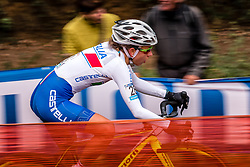 ARZUFFI Alice Maria (ITA) during the Women's race, UCI Cyclo-cross World Cup at Valkenbrug, The Netherlands, 23 October 2016. Photo by Pim Nijland / PelotonPhotos.com | All photos usage must carry mandatory copyright credit (Peloton Photos | Pim Nijland)