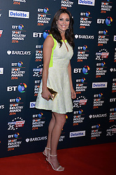 Pictured is Mel Sykes.<br /> <br /> BT Sport Industry Awards 2014 at Battersea Evolution, London, UK.<br /> <br /> Thursday, 8th May 2014. Picture by Ben Stevens / i-Images