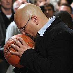 20080425: Basketball - NLB League, Union Olimpija vs Partizan
