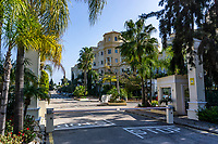 Las Dunas Park Hotel, Estepona, Malaga Province, Spain, February, 2020, 202002162202<br /><br />Copyright Image from Victor Patterson, Belfast, UK<br />t: +44 28 9066 1296 <br />(from Rep of Ireland 048 9066 1296) <br />m: +44 7802 353836 <br />victorpattersonbelfast@gmail.com <br />www.victorpatterson.com<br /><br />Please see my Terms and Conditions of Use at https://www.victorpatterson.com/page2 <br /><br />It is IMPORTANT that you familiarise yourself with them.<br /><br />Images used on the Internet incur an additional cost and must be visibly watermarked i.e. © Victor Patterson within the body of the image and copyright metadata must not be deleted. Images used on the Internet have a size restriction of 4kbs and are chargeable at rates available at victorpatterson.com.<br /><br />This image is only available for the use of the download recipient i.e. television station, newspaper, magazine, book publisher, etc, and must not be passed on to any third party. It is also downloaded on condition that each and every usage is notified within 7 days to victorpattersonbelfast@gmail.com<br /><br />The right of Victor Patterson to be identified as the author is asserted in accordance with The Copyright Designs And Patents Act (1988). All moral rights are asserted.