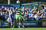Forest Green Rovers Reece Brown(10) during the EFL Sky Bet League 2 match between Forest Green Rovers and Chesterfield at the New Lawn, Forest Green, United Kingdom on 21 April 2018. Picture by Shane Healey.