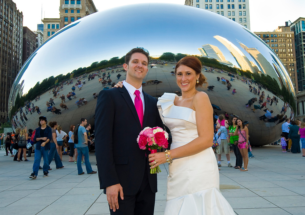 Andrew Welhouse and Jill Hovanes wedding, Oct. 8, 2011, Chicago, Ill.