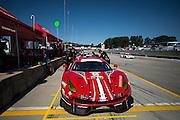 September 29, 2016: IMSA Petit Le Mans, #68 Alessandro Pier Guidi, Daniel Serra, Scuderia Corsa, Ferrari 488 GTE