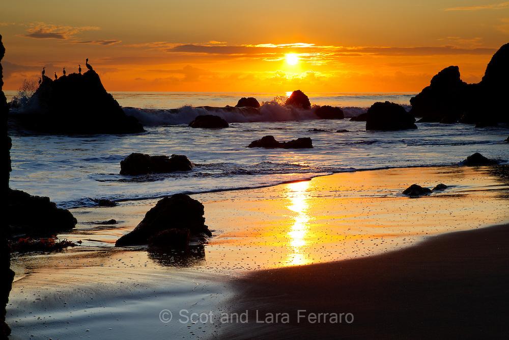 El Matador Beach Sunset