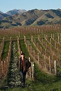 Sam Weaver, owner & winemaker, Churton Vineyards, Marlborough, New Zealand