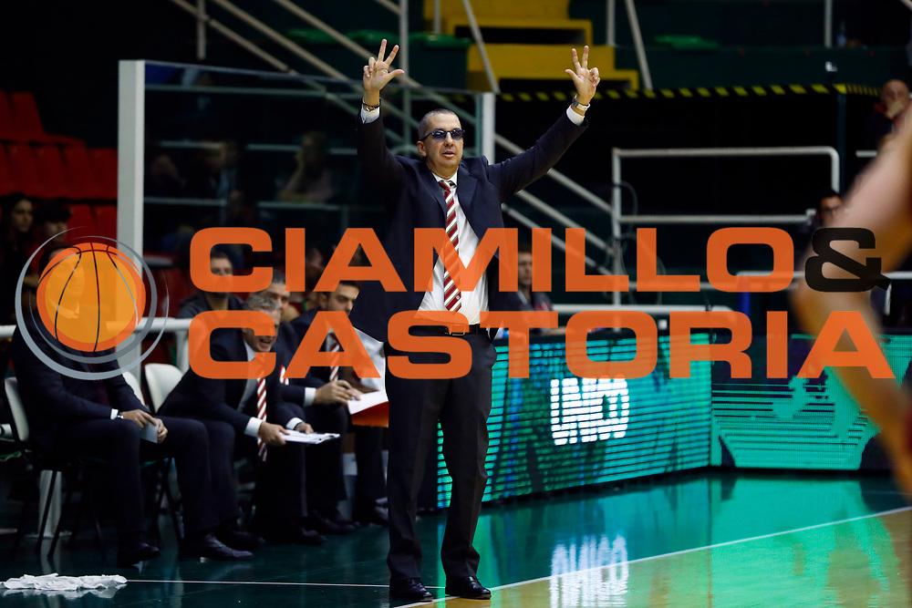 Walter De Raffaele<br /> Sidigas Scandone Avellino - Umana Reyer Venezia<br /> Lega Basket Serie A 2017/2018<br /> Avellino, 02/12/2017<br /> Foto Alfredo De Lise / Ciamillo - Castoria