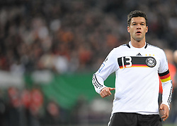 14.10.2009, HSH Nordbank Arena, Hamburg, GER, WM Qualifikation, Deutschland GER vs Finnland FIN , im Bild Michael Ballack ( GER _ Chelsea #13 ), EXPA Pictures © 2009 for Austria, Italy and United Kingdom only, Photographer EXPA / NPH / Kokenge