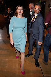 © Licensed to London News Pictures . 17/09/2019. Bournemouth, UK. Lib Dem leader JO SWINSON walks through the audience after delivering the Leader's Speech on the final day of the Liberal Democrat Party Conference at the Bournemouth International Centre . Photo credit: Joel Goodman/LNP