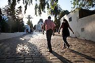 SIDI BOUSAID  the olt dity   Tunis - Tunisie  .///.SIDI BOU SAID la cité balneaire, le Saint Tropez tunisien,   Tunis - Tunisie .///.TUNIS051
