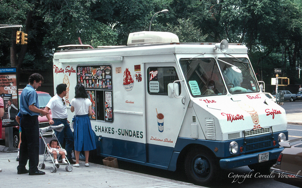 Mister Softee Icecream truck on Fifth Avenue