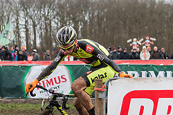 Michael Boros (CZE), Men Elite, Cyclo-cross World Cup Hoogerheide, The Netherlands, 25 January 2015, Photo by Pim Nijland / PelotonPhotos.com