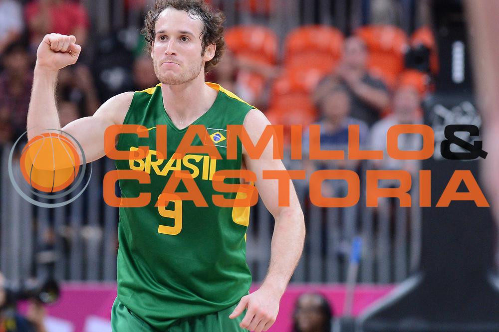 DESCRIZIONE : London Londra Olympic Games Olimpiadi 2012 Men Preliminary Round Great Britain Brazil Gran Bretagna Brasile<br /> GIOCATORE : Marcelinho HUERTAS<br /> CATEGORIA : <br /> SQUADRA : Brazil Brasile<br /> EVENTO : Olympic Games Olimpiadi 2012<br /> GARA : Great Britain Brazil Gran Bretagna Brasile<br /> DATA : 31/07/2012<br /> SPORT : Pallacanestro <br /> AUTORE : Agenzia Ciamillo-Castoria/M.Marchi<br /> Galleria : London Londra Olympic Games Olimpiadi 2012 <br /> Fotonotizia : London Londra Olympic Games Olimpiadi 2012 Men Preliminary Round Great Britain Brazil Gran Bretagna Brasile<br /> Predefinita :