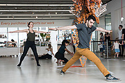 Outstanding young performers and alumni from Trinity Laban Conservatoire of Music and Dance join harpsichordist Julian Perkins to create a dance work in the gallery, with music from the baroque to the present day including Gyorgy Ligeti's seminal Hungarian Rock. © Tony Nandi 2107
