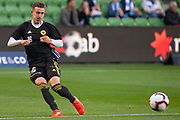 MELBOURNE, VIC - NOVEMBER 09: Wellington Phoenix defender Louis Fenton (16) during warm up at the Hyundai A-League Round 4 soccer match between Melbourne City FC and Wellington Phoenix on November 09, 2018 at AAMI Park in Melbourne, Australia. (Photo by Speed Media/Icon Sportswire)