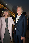 SIR PAUL AND LADY SMITH, VIP opening  of the new Serpentine Sackler Gallery designed by Zaha Hadid . Kensinton Gdns. London. 25 September 2013
